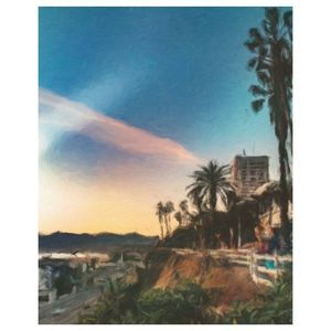 Other - Santa Monica 8X10 Digital Photographic Painting